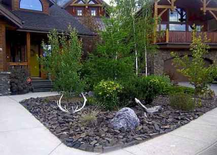 52 Gorgeous Front Yard Rock Garden Landscaping Ideas