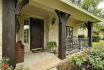 56 Beautiful Wooden and Stone Front Porch Ideas
