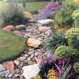 56 Gorgeous Front Yard Rock Garden Landscaping Ideas