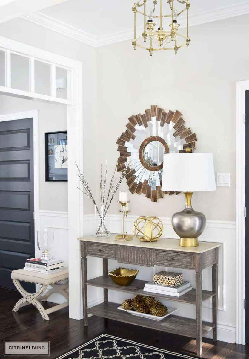 62 Welcoming Rustic Farmhouse Entryway Decorating Ideas