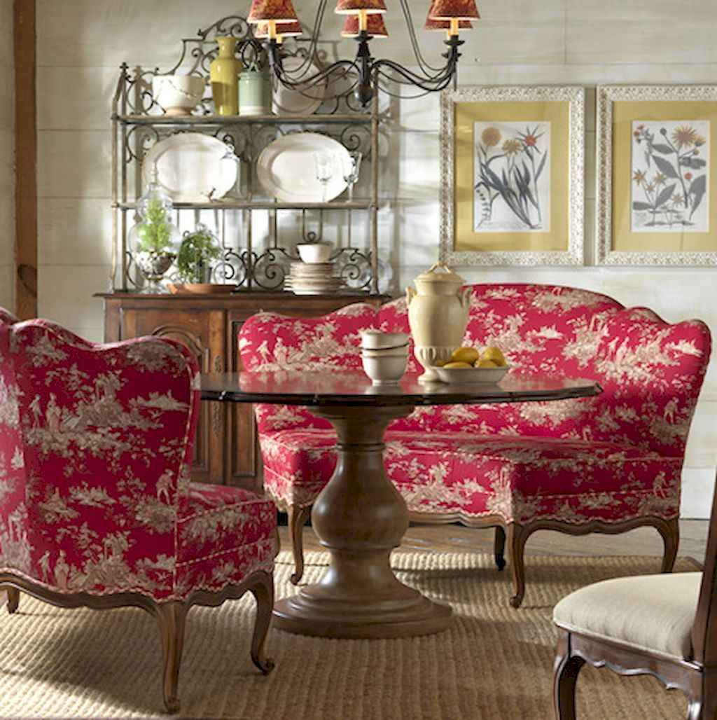 64 Gorgeous French Country Dining Room Decor Ideas