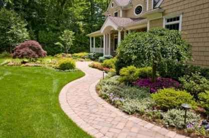 66 Amazing Front Yard Walkways Ideas on A Budget