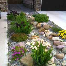 74 Gorgeous Front Yard Rock Garden Landscaping Ideas