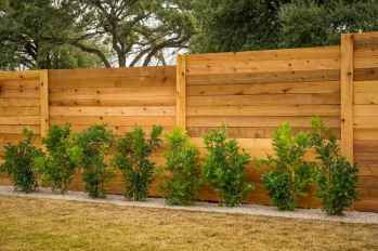 80 Affordable Backyard Privacy Fence Ideas