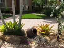 81 Gorgeous Front Yard Rock Garden Landscaping Ideas