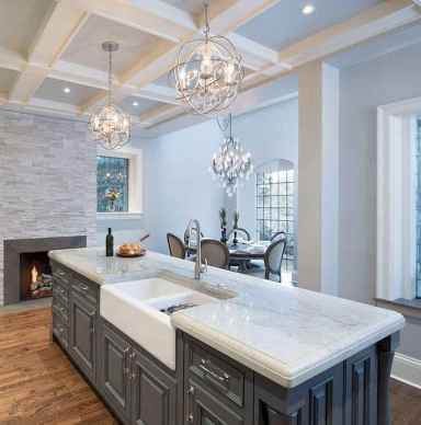 05 Gorgeous Gray Kitchen Cabinet Makeover Design Ideas