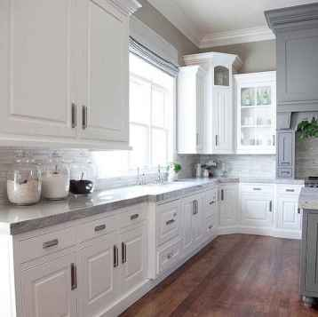07 Gorgeous Gray Kitchen Cabinet Makeover Design Ideas