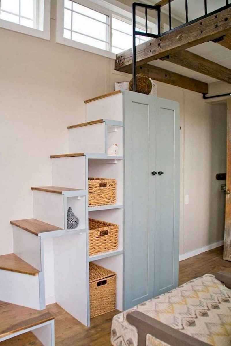 19 Clever Loft Stair Design for Tiny House Ideas