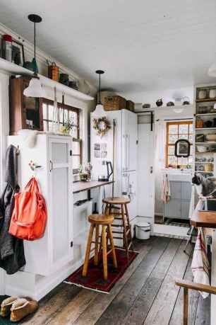 19 Tiny House Kitchen Storage Organization and Tips Ideas