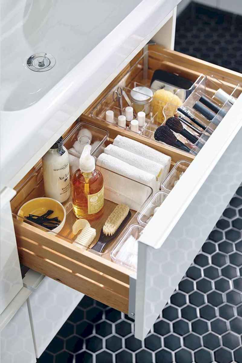 32 Clever and Easy Bathroom Organization Ideas