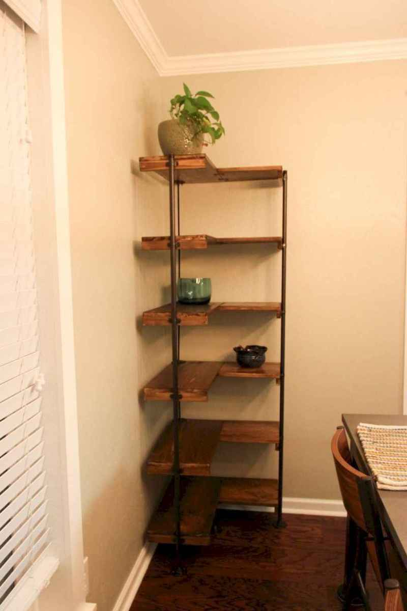 40 Wonderful Floating Corner Shelve for Living Room Organization Ideas