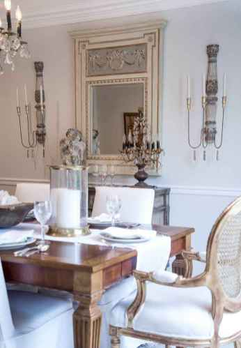 47 Gorgeous French Country Dining Room Decor Ideas