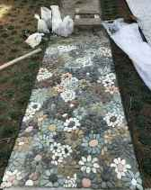 50 Magnificent DIY Mosaic Garden Path Decorations For Your Inspiration
