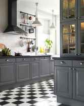 52 Gorgeous Gray Kitchen Cabinet Makeover Design Ideas