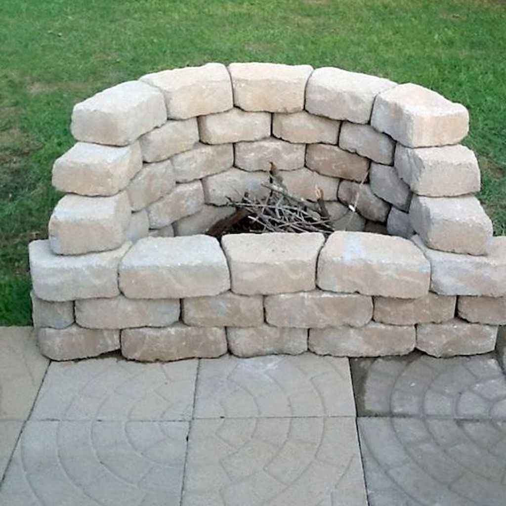 58 Awesome Backyard Fire Pits with Seating Ideas