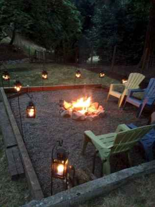 62 Awesome Backyard Fire Pits with Seating Ideas