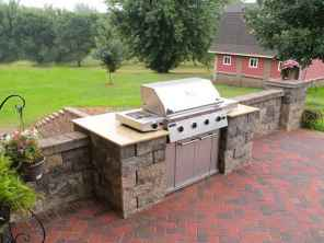 02 Awesome Outdoor Kitchen and Grill Backyard Ideas for Summer