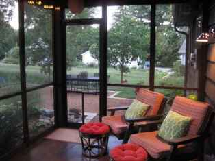 06 Small Front Porch Seating Ideas for Farmhouse Summer