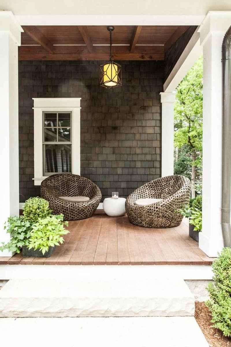 07 Small Front Porch Seating Ideas for Farmhouse Summer