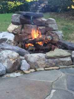 08 Easy Cheap Backyard Fire Pit Seating Area Design Ideas