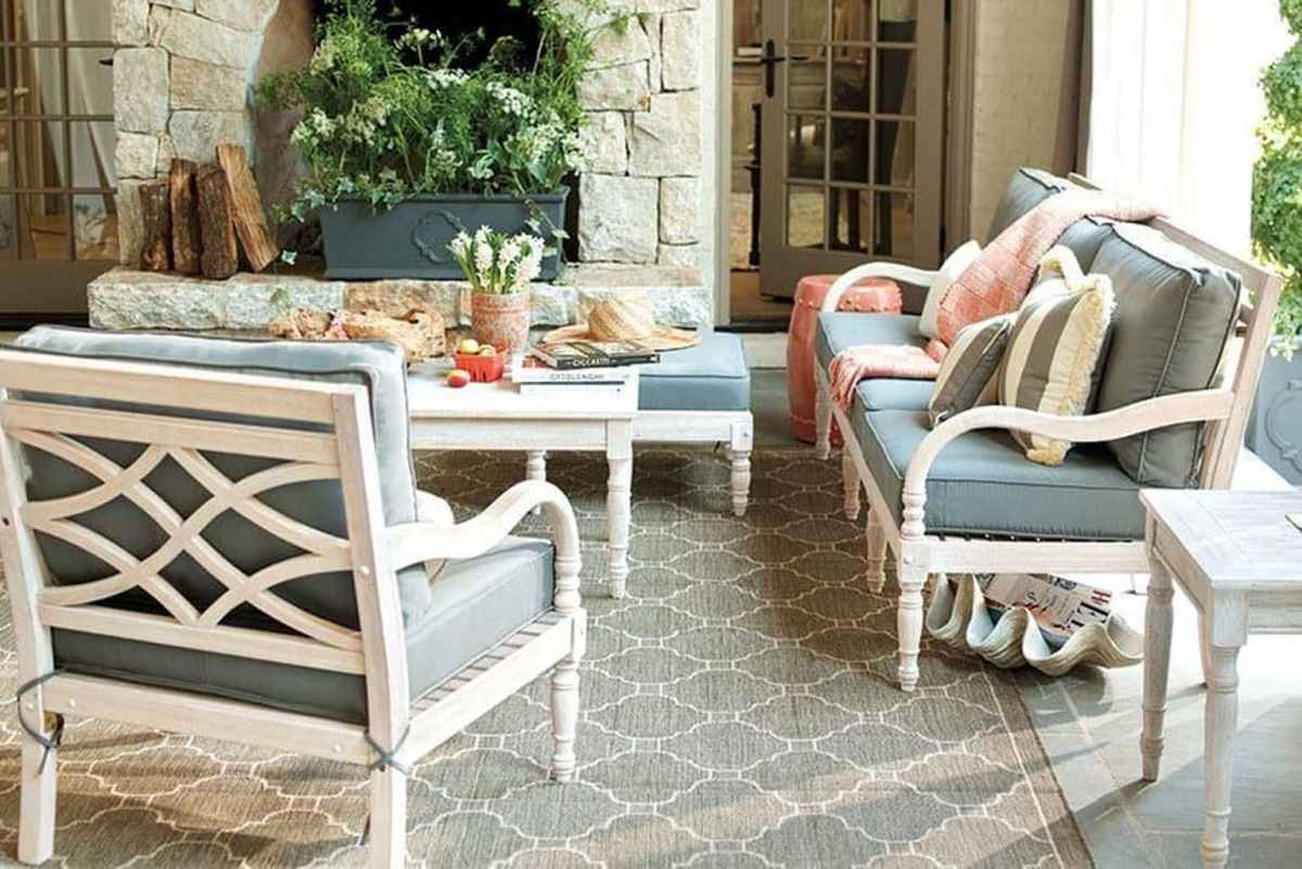 08 Small Front Porch Seating Ideas for Farmhouse Summer