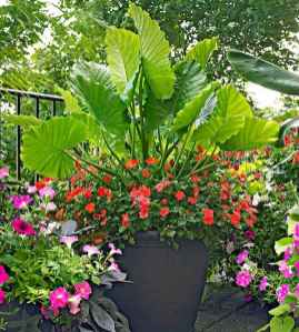 09 Fresh and Easy Summer Container Garden Flowers Ideas