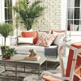 09 Small Front Porch Seating Ideas for Farmhouse Summer