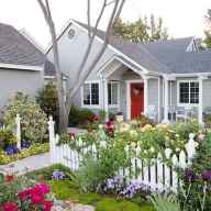 17 Fresh and Beautiful Front Yard Flowers Garden Landscaping Ideas