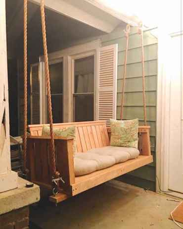31 Awesome Farmhouse Porch Swing Plans Ideas
