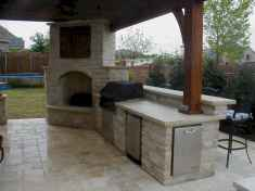 32 Amazing Outdoor Kitchen Design for Your Summer Ideas