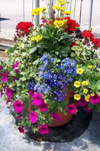 34 Fresh and Easy Summer Container Garden Flowers Ideas