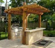 35 Awesome Outdoor Kitchen and Grill Backyard Ideas for Summer
