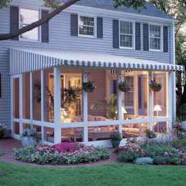 35 Gorgeous Farmhouse Screened In Porch Design Ideas for Relaxing