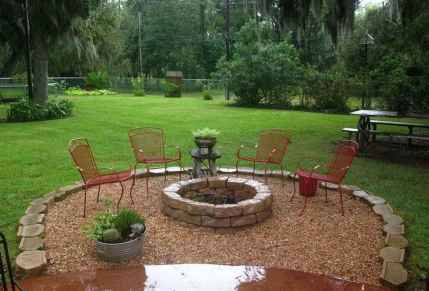 36 Easy Cheap Backyard Fire Pit Seating Area Design Ideas