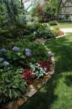 36 Fresh and Beautiful Front Yard Flowers Garden Landscaping Ideas