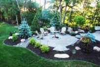 37 Easy Cheap Backyard Fire Pit Seating Area Design Ideas