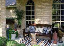 37 Small Front Porch Seating Ideas for Farmhouse Summer