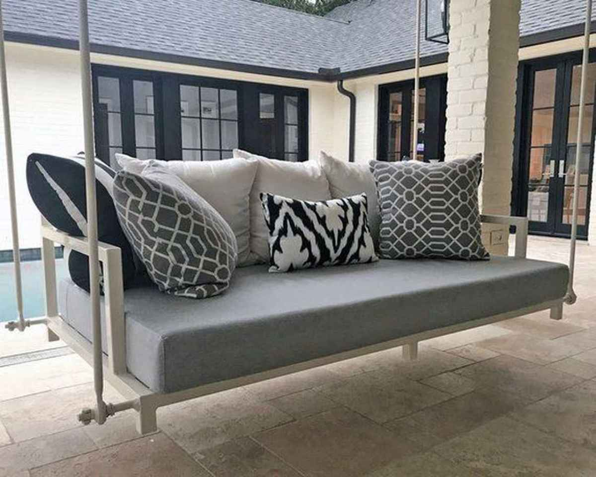 42 Awesome Farmhouse Porch Swing Plans Ideas
