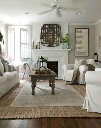 45 Best Modern Farmhouse Living Room Rug Decor Ideas