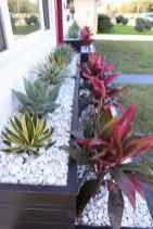 48 Fresh and Beautiful Front Yard Flowers Garden Landscaping Ideas