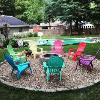50 Easy Cheap Backyard Fire Pit Seating Area Design Ideas