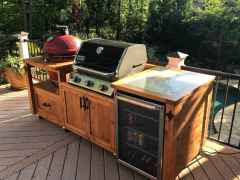 51 Awesome Outdoor Kitchen and Grill Backyard Ideas for Summer