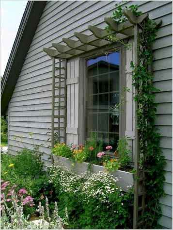 54 Fresh and Beautiful Front Yard Flowers Garden Landscaping Ideas