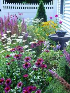 56 Fresh and Beautiful Front Yard Flowers Garden Landscaping Ideas