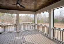 56 Gorgeous Farmhouse Screened In Porch Design Ideas for Relaxing