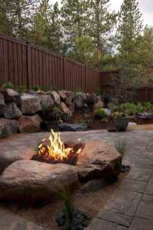 57 Easy Cheap Backyard Fire Pit Seating Area Design Ideas