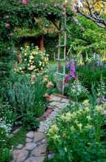 59 Beautiful Small Cottage Flowers Garden for Backyard Ideas