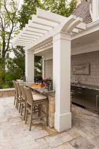60 Amazing Outdoor Kitchen Design for Your Summer Ideas