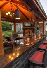 63 Amazing Outdoor Kitchen Design for Your Summer Ideas