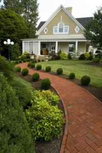 68 Fresh and Beautiful Front Yard Flowers Garden Landscaping Ideas